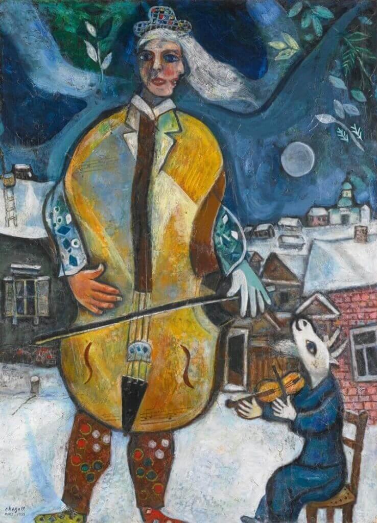 Marc Chagall: A nagybőgős