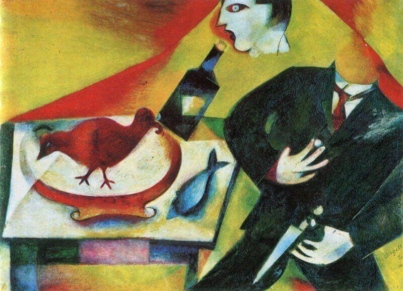 Marc Chagall: A részeges