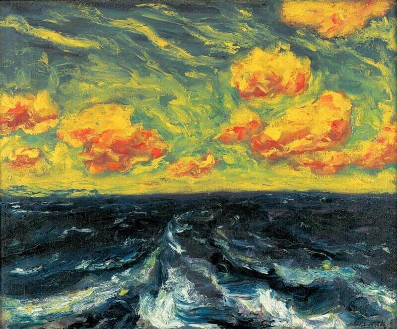 Emil Nolde: Őszi tenger