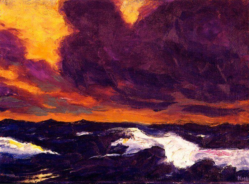 Emil Nolde: A B tenger