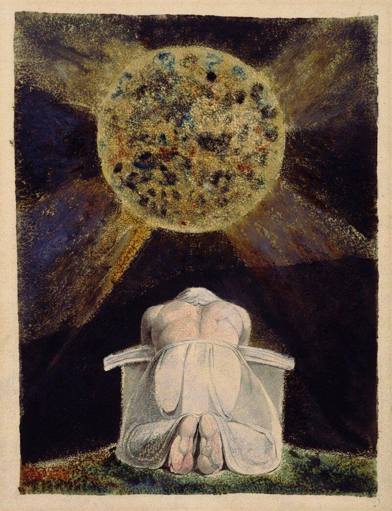 William Blake: Vereség tábla a Los énekéből, wikipedia.org