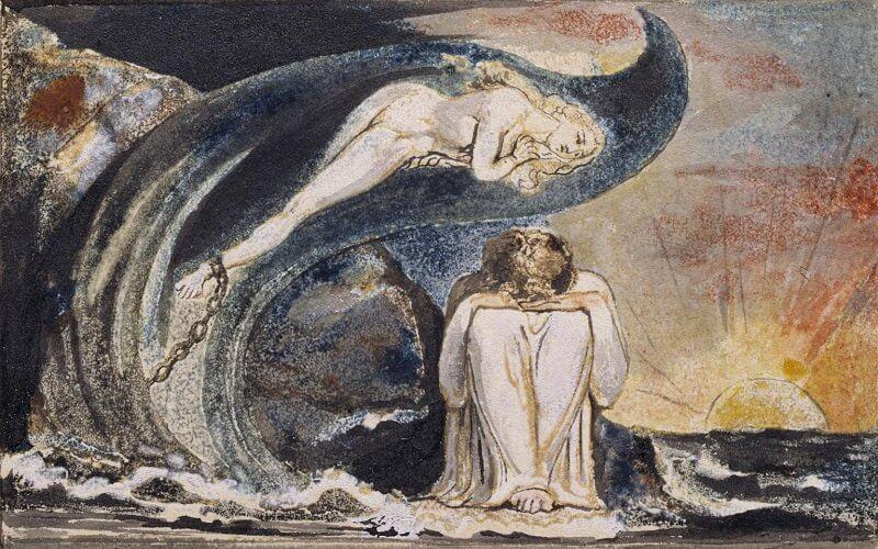 William Blake: Albion leányainak látomásai, arthistoryproject.com