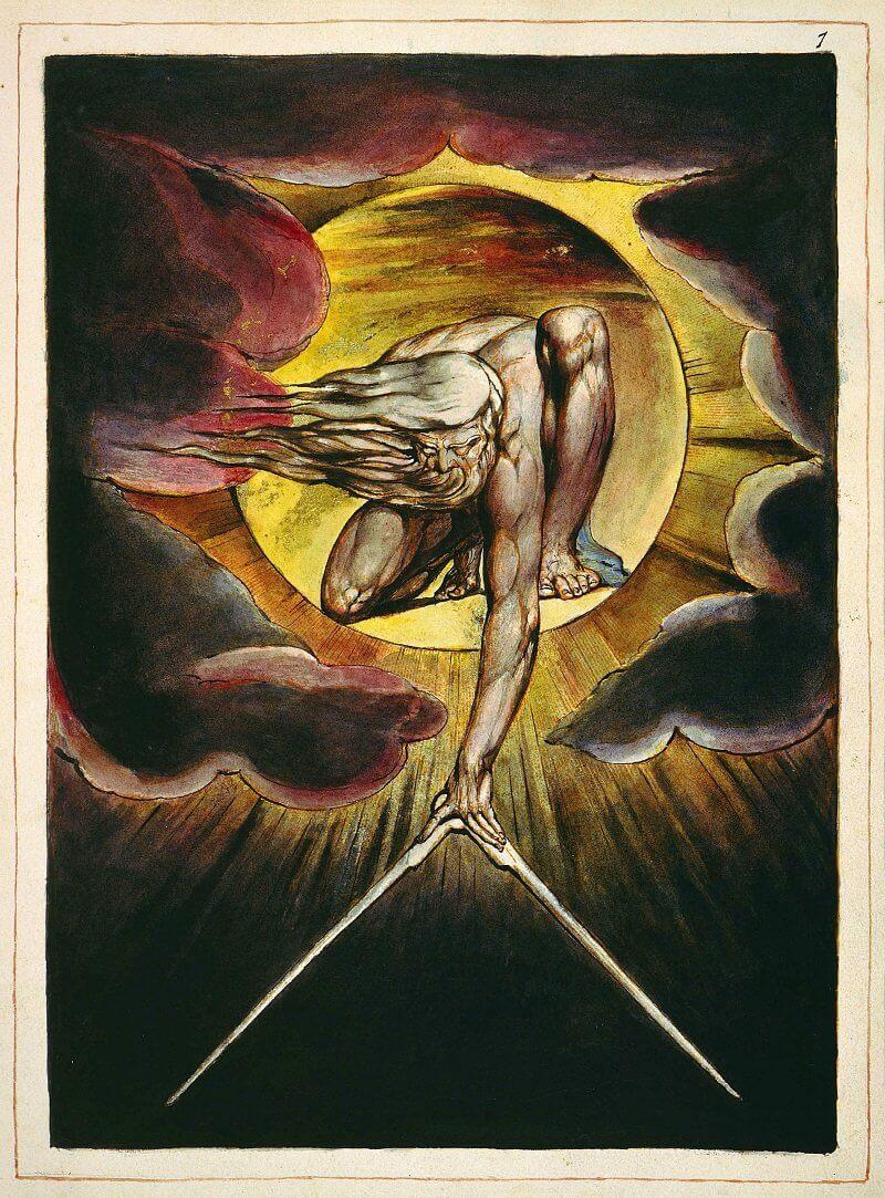 William Blake: Európa: jövendölés, wikipedia.org