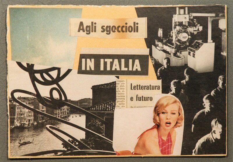 Lamberto Pignotti: Letteratura e futuro 1966, fondazionebonotto.it