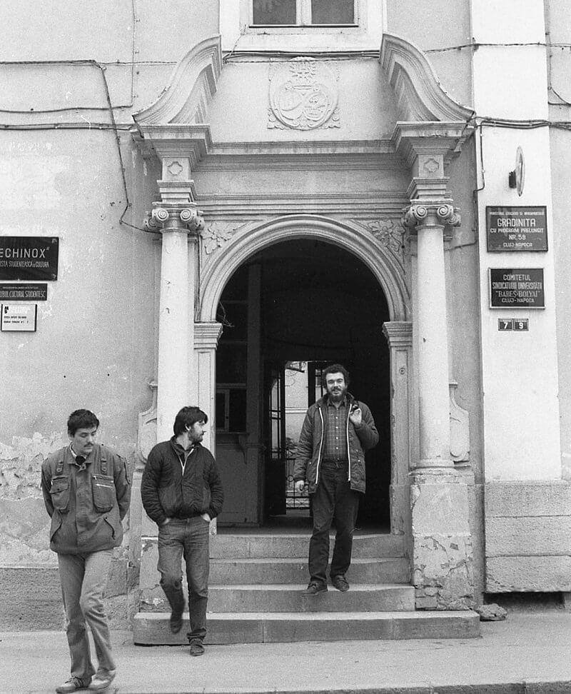 A Babes-Bolyai Tudományegyetem egyik épülete, volt piarista rendház, fortepan.hu