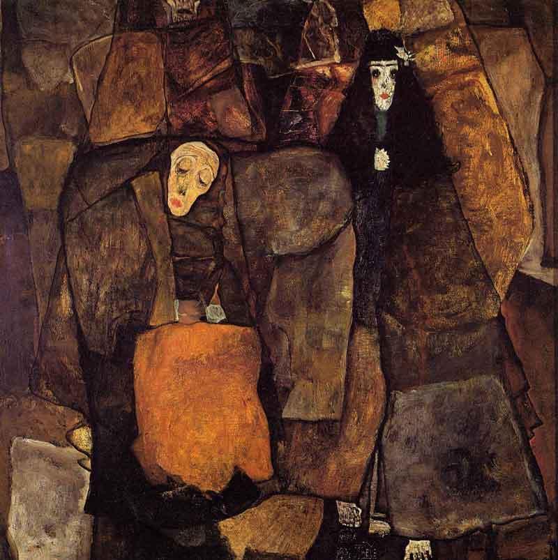 Egon Schiele: Körmenet