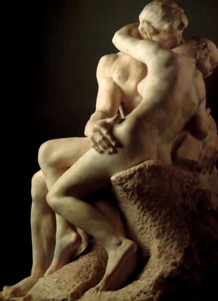 Auguste Rodin: A csók