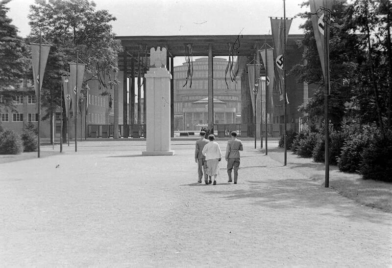 Wrocław, Hala Ludowa (Centenáriumi Csarnok). Képszám: 19358. Adományozó: Wein Sarolta. fortepan.hu