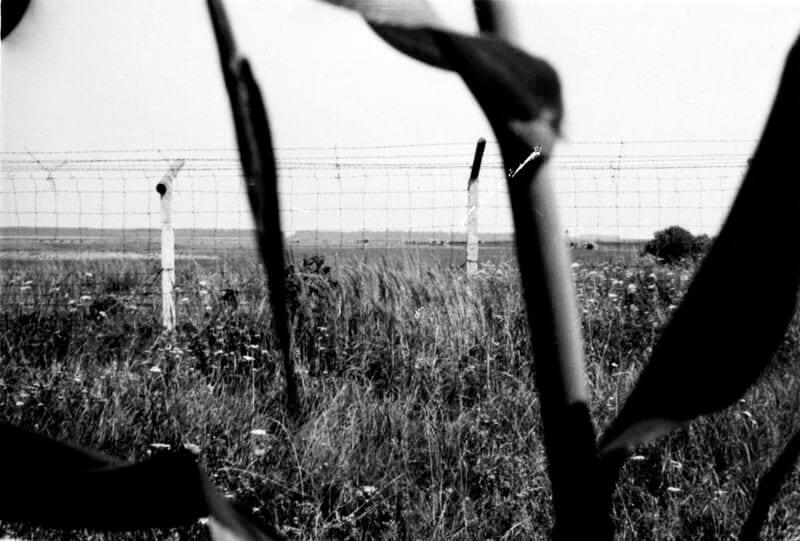 """Magyar-osztrák határ, a """"vasfüggöny"""", 1970. Képszám: 101901. Adományozó: Fortepan. fortepan.hu"""