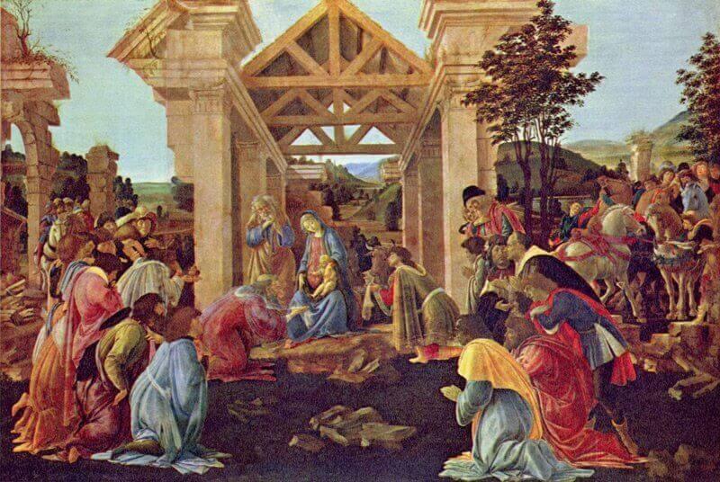 Sandro Botticelli: A Háromkirályok imádása