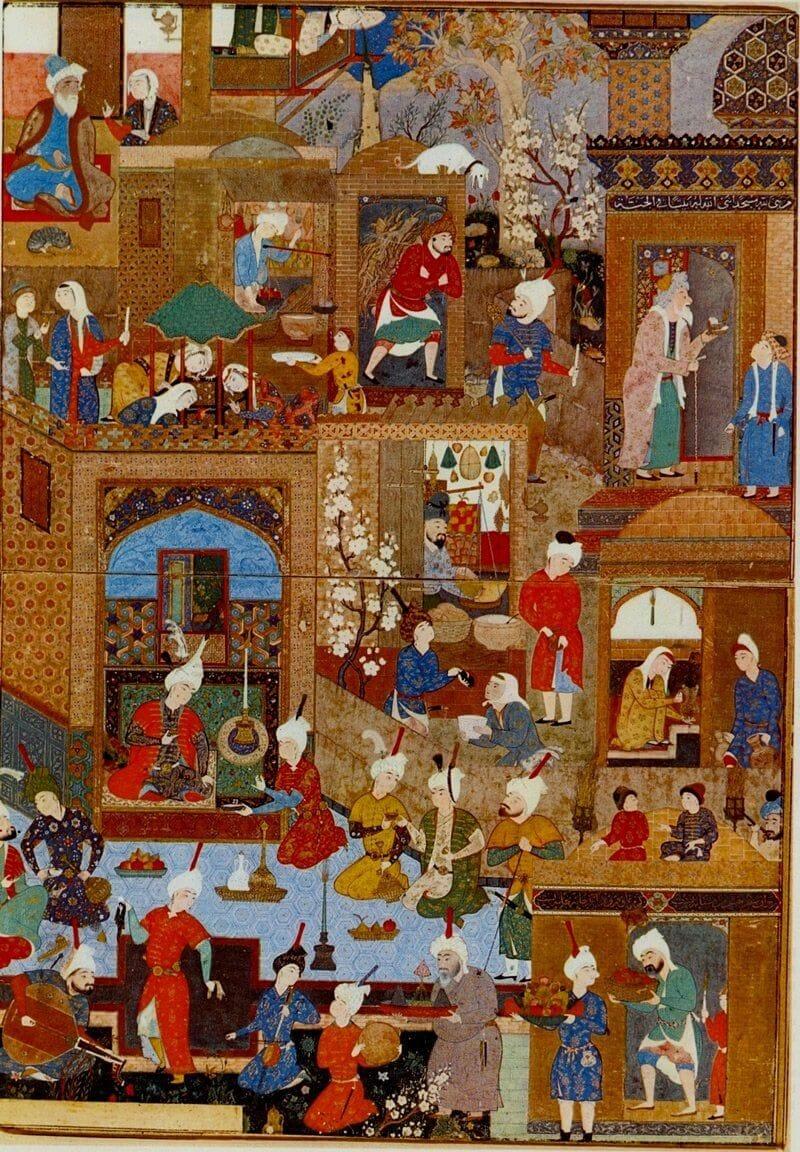 Mir Sayyid Ali festménye, 1540
