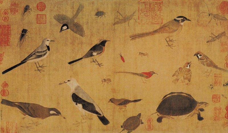 Huang Quan festménye