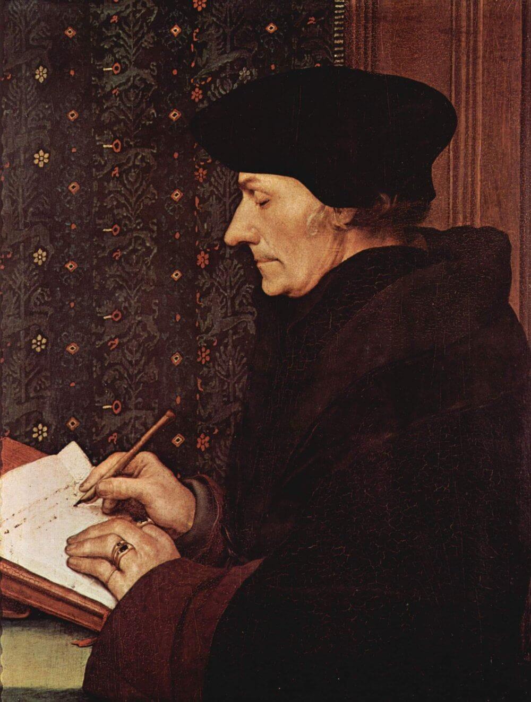 Ifj. Hans Holbein: Erasmus