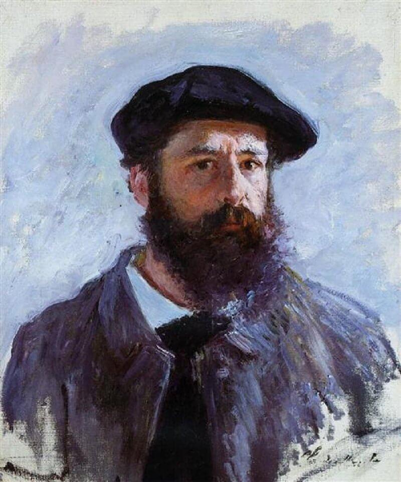 Claude Monet: Sapkás önarckép, wikiart.org