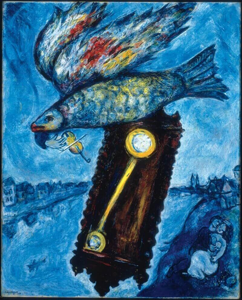 Marc Chagall: Az idő egy parttalan folyó