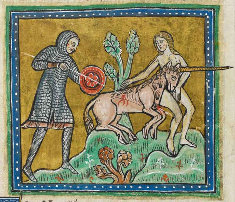 Rochester Bestiary/British Library, wired.com