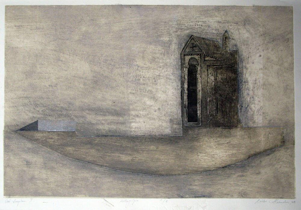 Nádas Alexandra: Úszó templom I.