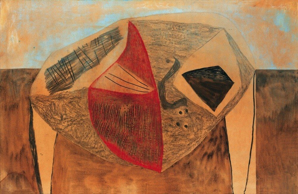 Vajda Lajos: Rajzolatok homokszínű alapon