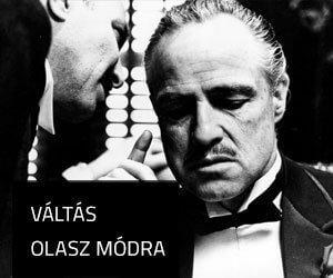 VÁLTÁS OLASZ MÓDRA