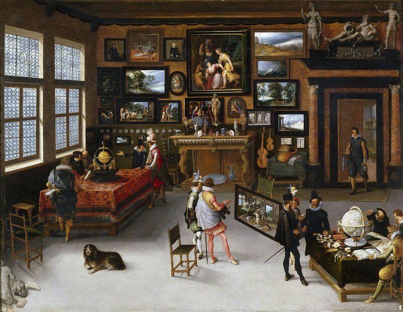 Ifj. Hieronymus Francken: Művészetek és tudományok, commons.wikimedia.org