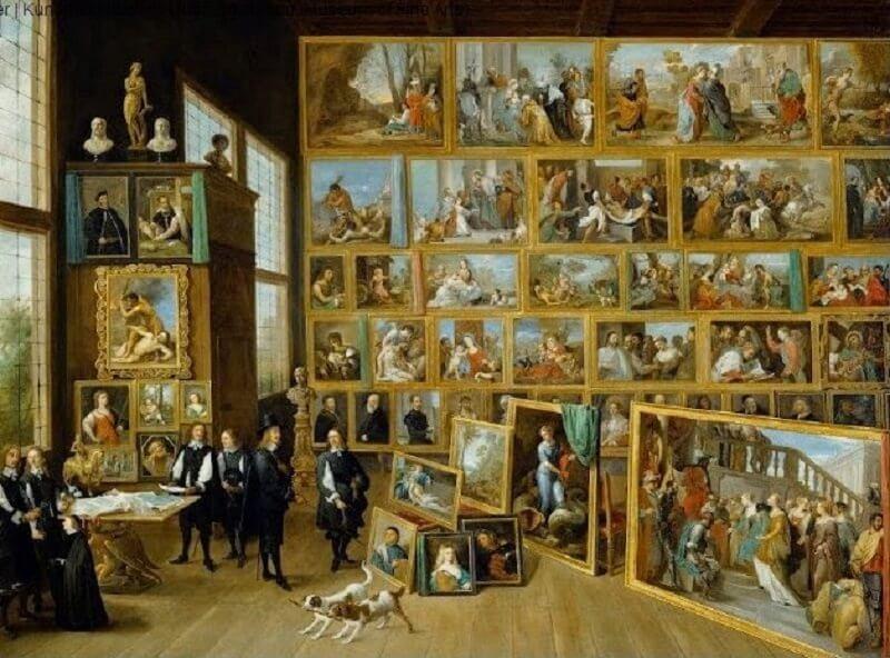 Ifjabb David Teniers: Lipót főherceg brüsszeli képtárában, kingsandcollectors.blogspot.hu