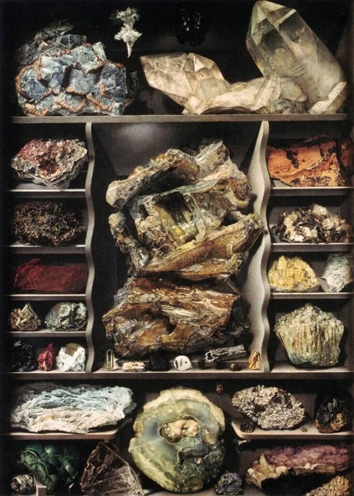 Alexandre Isidore Leroy De Barde: Kristályos ásványok, commons.wikimedia.org