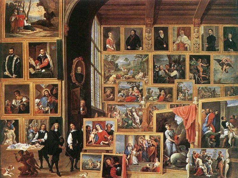Ifjabb David Teniers: Lipót főherceg brüsszeli műgyűjteménye, kingsandcollectors.blogspot.hu