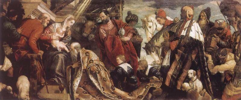 Paolo Veronese: A Háromkirályok imádása