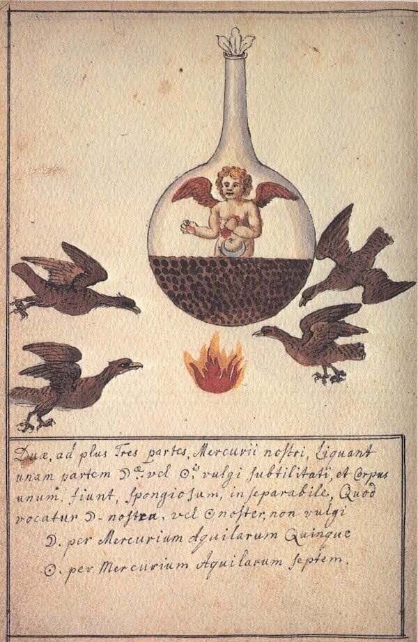 Cabala Mineralis – részlet (17. század), innergarden.org