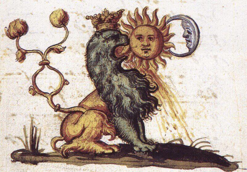 Illusztráció a Rosarium Philosophorumból (15. század), pinterest.com