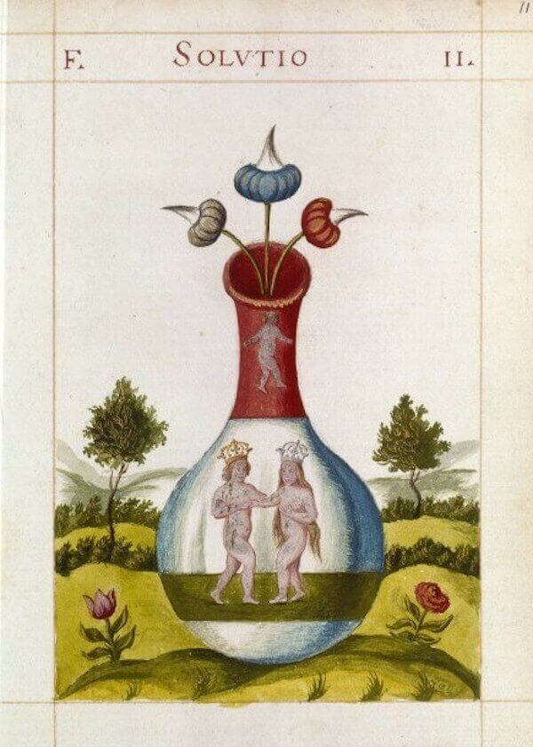Illusztráció a Szent Honoré kapucinus kolostor kézirataiból (17. század), pinterest.com