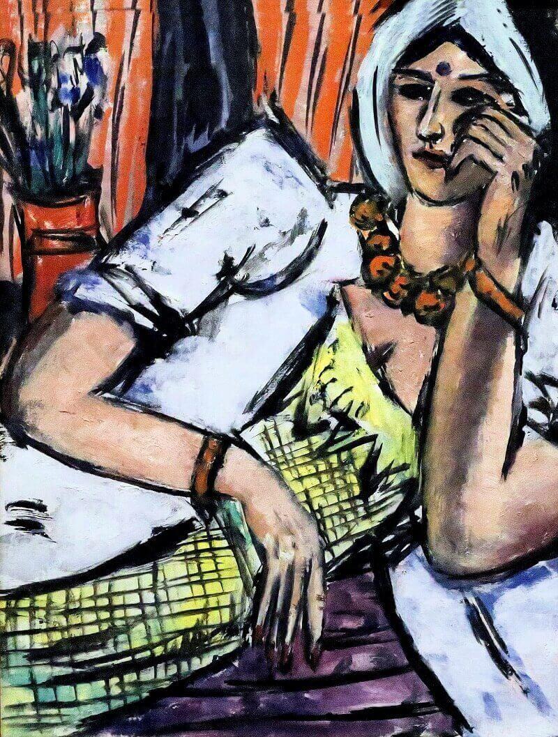 Max Beckmann: Indián nő, jean louis mazieres, flickr.com