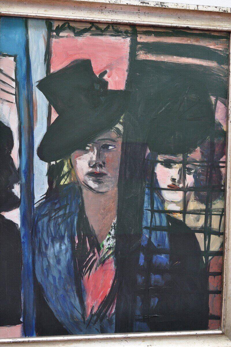 Max Beckmann: Két nő üvegajtó mögött, Bernard Blanc, flickr.com