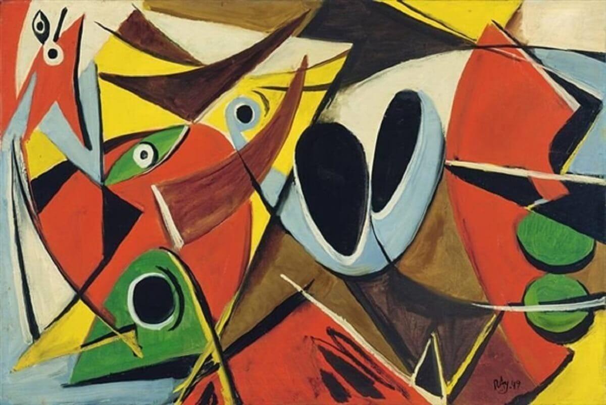 ARCOK ÉS ÁLARCOK PÁRIZSBAN 1947–49