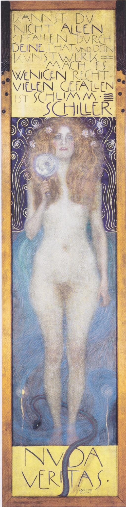 Gustave Klimt: Nuda Veritas